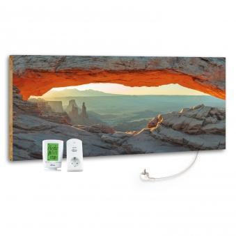 Marmony Infrarotheizung M800 PLUS Mountain View + Thermostat 800W Bild 1