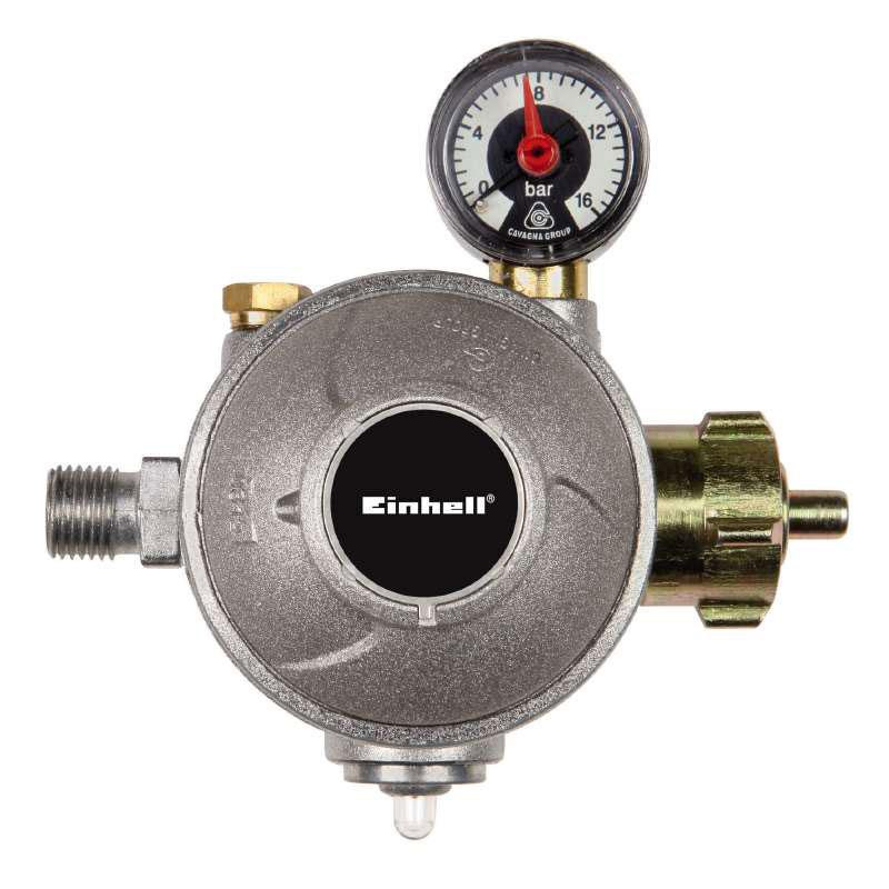 Gasdruckregler / Gasregler für Innen doppelstufig 50mbar Bild 1