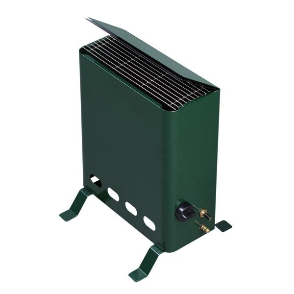 tepro gew chshausheizer gasheizer mit thermostat 2kw gr n bei. Black Bedroom Furniture Sets. Home Design Ideas