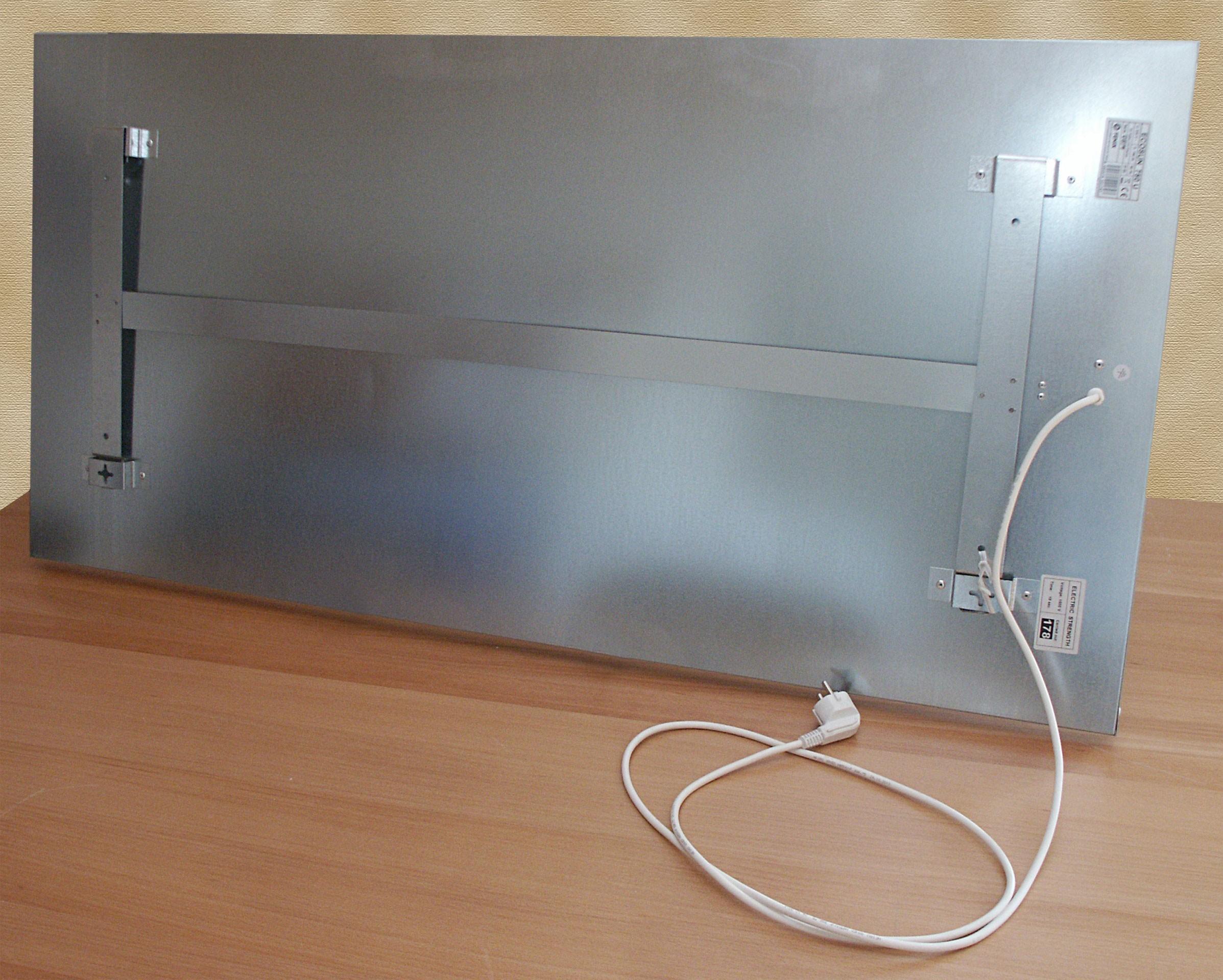 infrarotheizung fenix wei 119x59x3cm 750 watt bei. Black Bedroom Furniture Sets. Home Design Ideas