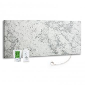 marmony infrarotheizung c780 plus carrara thermostat set 800 watt bei. Black Bedroom Furniture Sets. Home Design Ideas