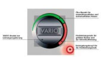 Ölofen Wamsler OS 4/5 Vario hellbraun/dunkelbraun Bild 3
