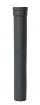 Ofenrohr für Pelletofen Senotherm 0,8mm grau Ø100mm Länge 1000mm Bild 2