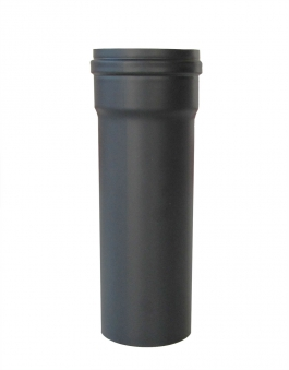 Ofenrohr für Pelletofen Senotherm 0,8mm grau Ø100mm Länge 250mm Bild 2