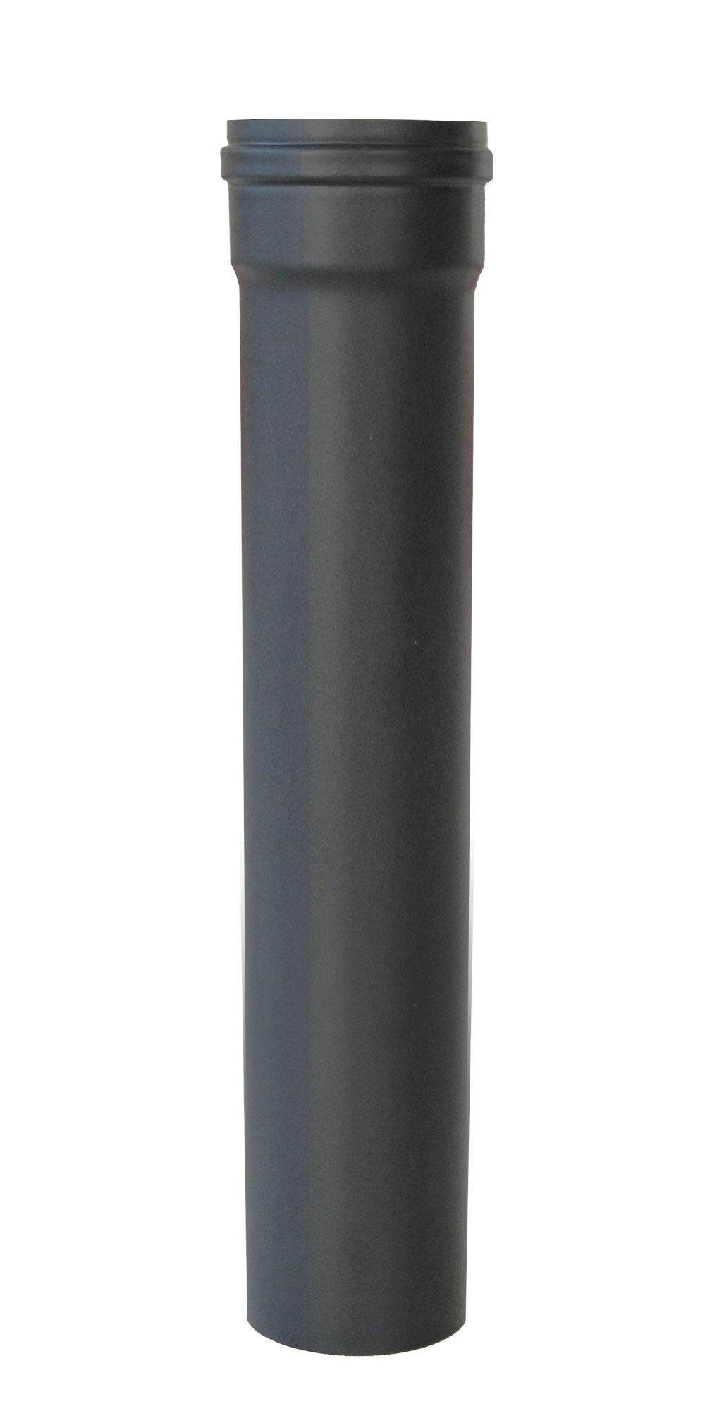Ofenrohr für Pelletofen Senotherm 0,8mm grau Ø100mm Länge 500mm Bild 2