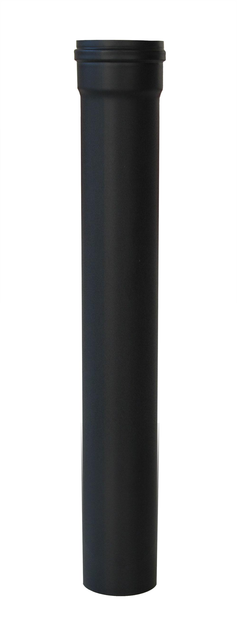 Ofenrohr für Pelletofen Senotherm 0,8mm schwarz Ø100mm Länge 1000mm Bild 3