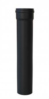 Ofenrohr für Pelletofen Senotherm 0,8mm schwarz Ø100mm Länge 500mm Bild 3