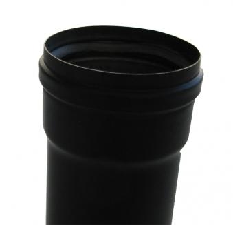 Ofenrohr für Pelletofen Senotherm 0,8mm schwarz Ø100mm Länge 500mm Bild 4