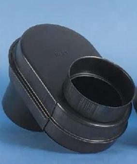 Ofenrohr / Rauchrohr Flachknie (Kairoknie) Nr.20 Ø 120 mm Bild 1