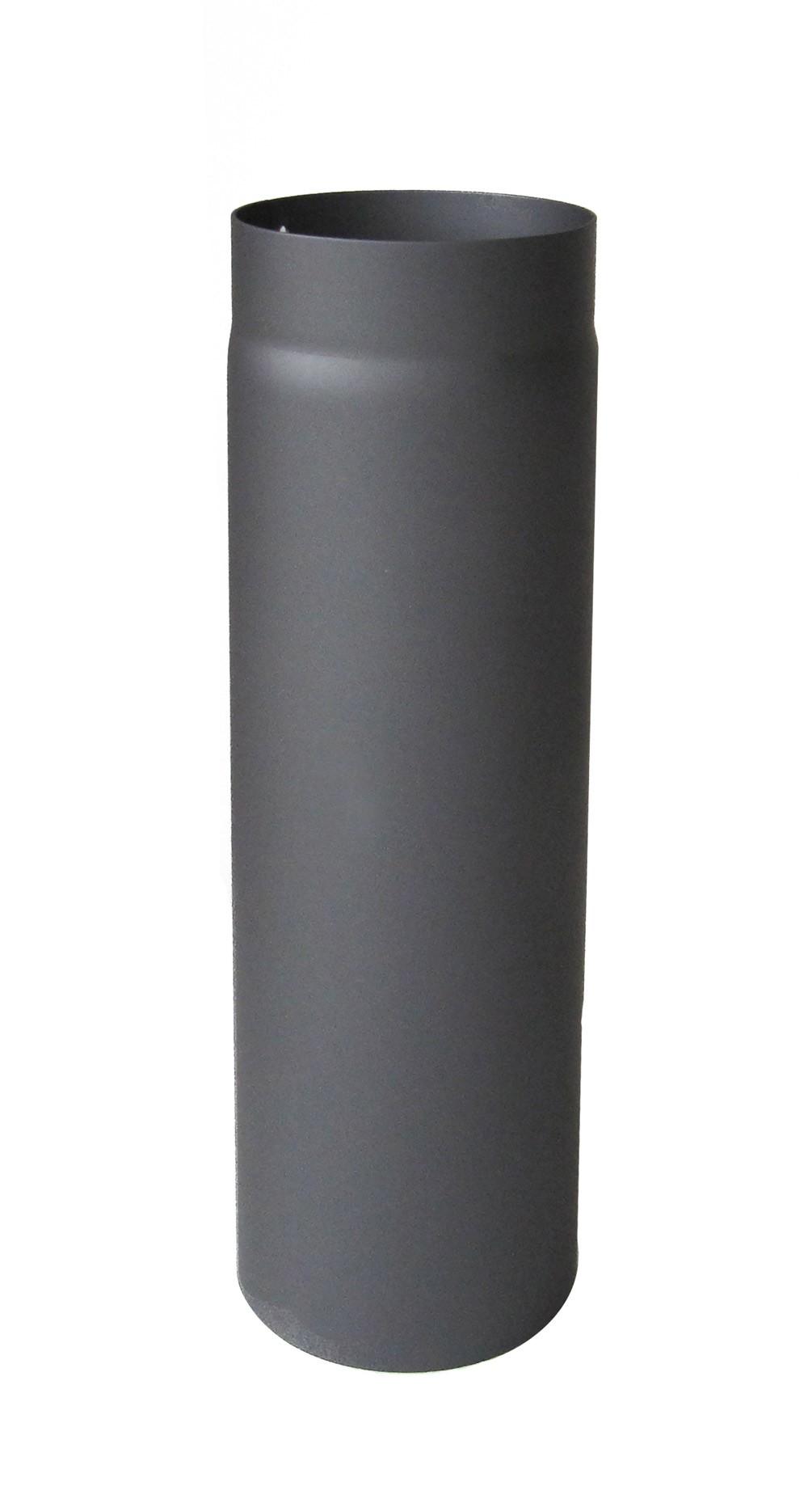 Ofenrohr / Rauchrohr Senotherm grau Ø120mm Länge 1000 mm Bild 2