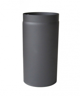 Ofenrohr / Rauchrohr Senotherm grau Ø120mm Länge 250 mm Bild 2