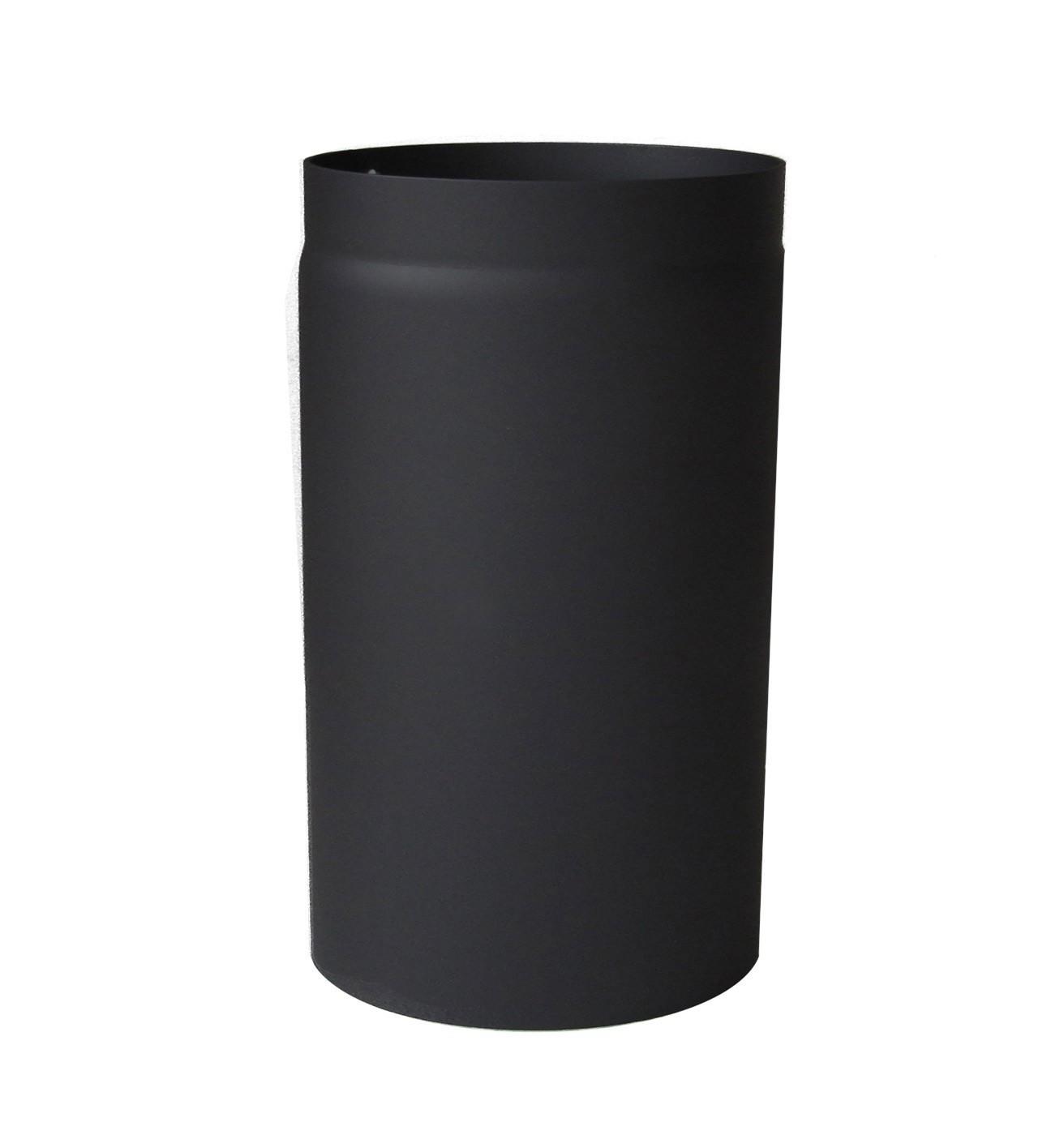 Ofenrohr / Rauchrohr Senotherm schwarz Ø120 mm Länge 250 mm Bild 2