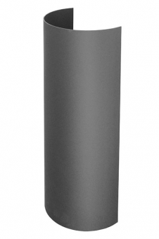Hitzeschutz Rohrblende Senotherm grau Ø130mm Bild 3
