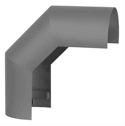 Hitzeschutz Rohrblende Winkel 90° Senotherm grau Ø 130 mm Bild 2