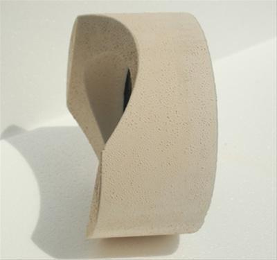 Anschlußteil mit Doppelwandfutter für runde Schornsteine Ø 130 mm Bild 2