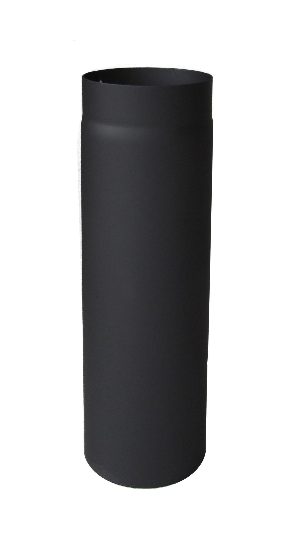 Ofenrohr / Rauchrohr Senotherm schwarz Ø130 mm Länge 1000 mm Bild 2