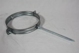 Schlagrohrschelle Ø150mm verzinkt Bild 1