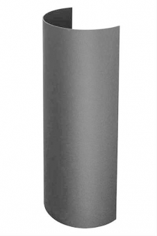 Hitzeschutz-Rohrblende gussgrau 46cm Bild 2