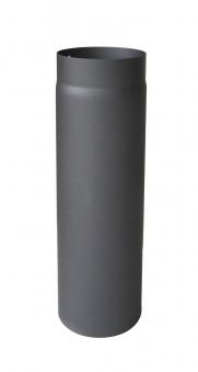Ofenrohr / Rauchrohr Senotherm gussgrau Ø150 mm Länge 500 mm Bild 2