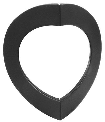 Ofenrohr / Rauchrohr Rosette 90° gewinkelt Außen-Eck Ø 150 mm schwarz Bild 1