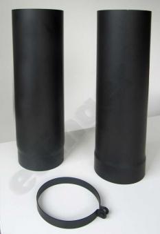 Ofenrohr / Rauchrohr Senotherm schwarz Ø150mm Länge teleskopierbar Bild 2