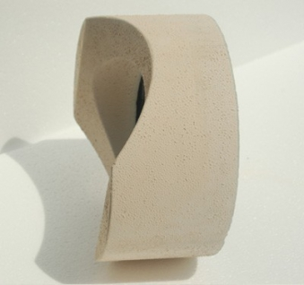 Anschlußteil mit Doppelwandfutter für runde Schornsteine Ø 160 mm Bild 2