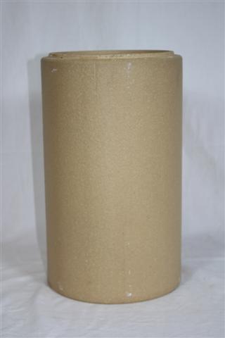 Schamotterohr Ø180mm für Ofenrohr Ø160mm Bild 2