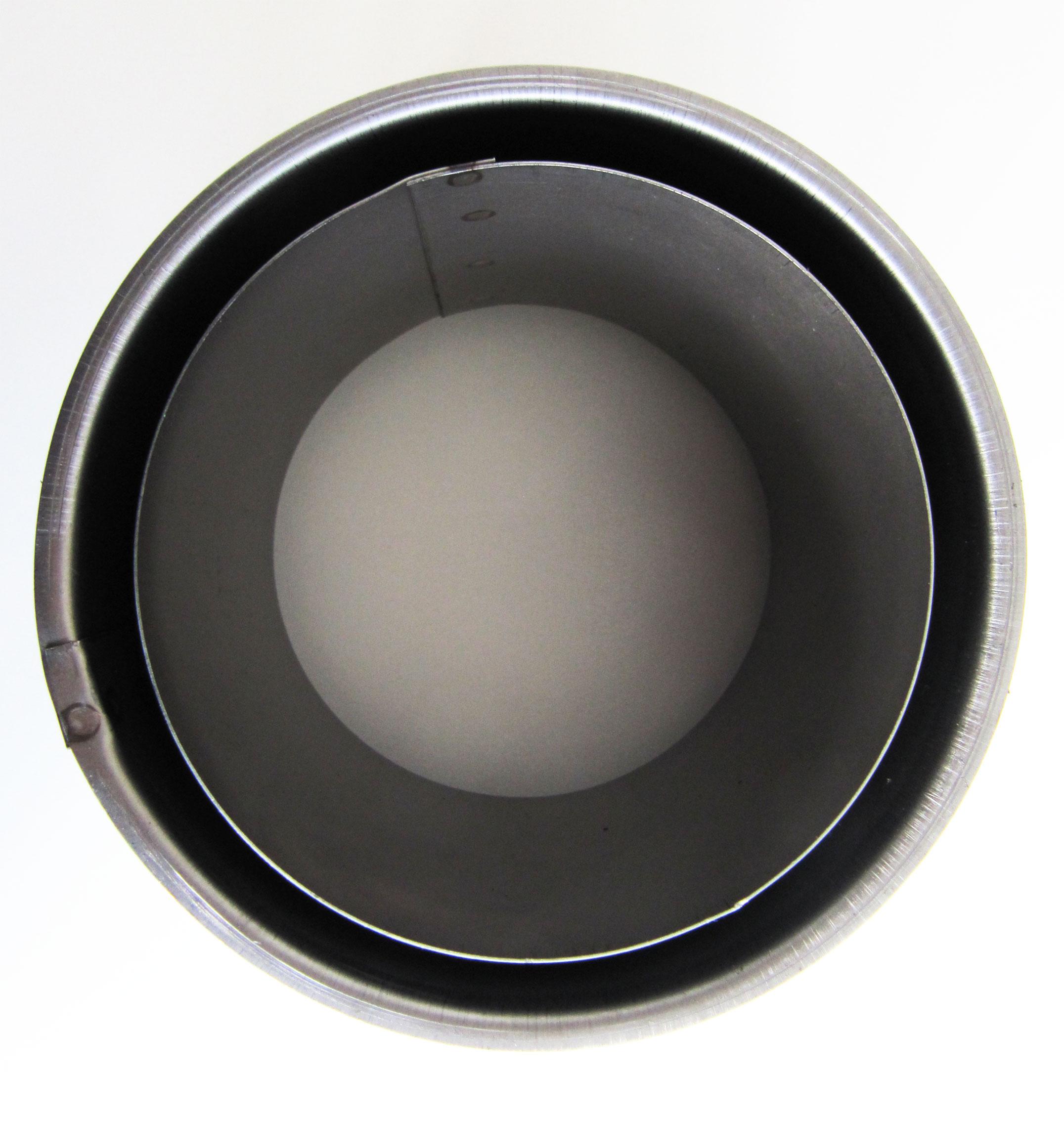 Wandfutter doppelwandig Stahl Ø160mm Bild 1