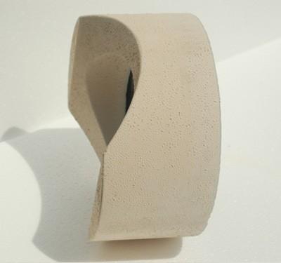Anschlußteil mit Doppelwandfutter für runde Schornsteine Ø 180 mm Bild 2