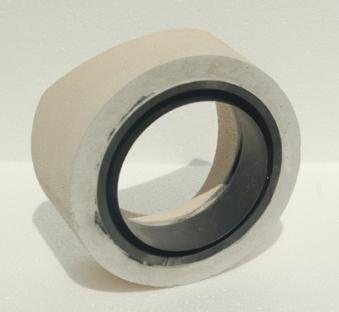 Anschlußteil mit Doppelwandfutter für runde Schornsteine Ø 180 mm Bild 1