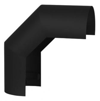 Hitzeschutz Rohrblende Winkel 90° Senotherm schwarz Ø 180 mm Bild 2