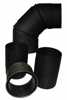 Ofenrohr / Rauchrohr Set Ø 180 mm für Komfort, Prestige, Exquisit Bild 1