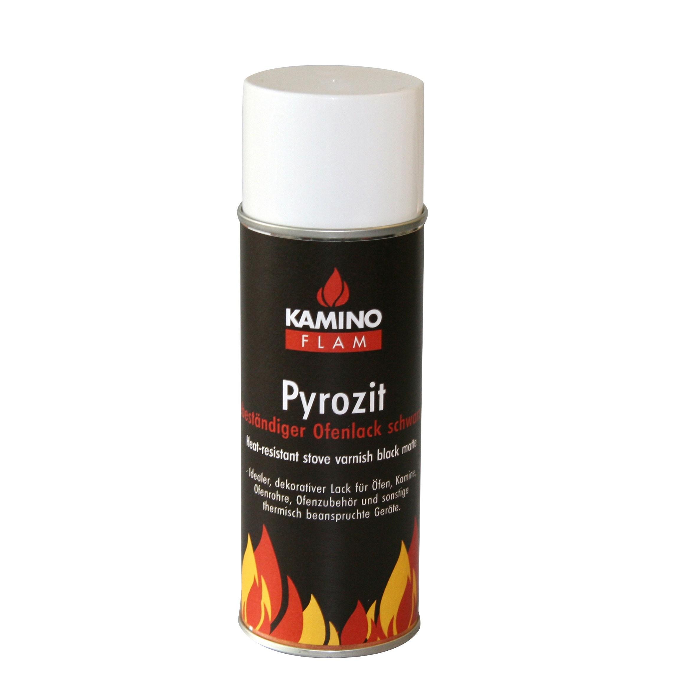 Ofenlack Spray KaminoFlam schwarz matt 300 ml Bild 1