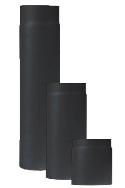 Ofenrohr / Rauchrohr Stahl Senotherm schwarz Ø200mm Länge 1000 mm Bild 2