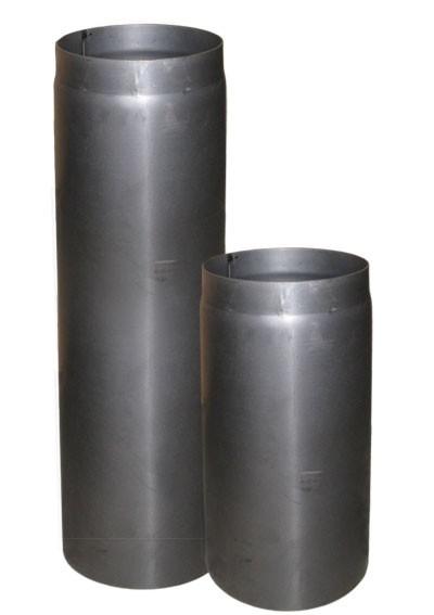 Ofenrohr / Rauchrohr Stahl blank Ø200mm Länge 500 mm Bild 2
