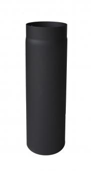 Ofenrohr / Rauchrohr Stahlblech Senotherm schwarz Ø200mm Länge 250mm Bild 2