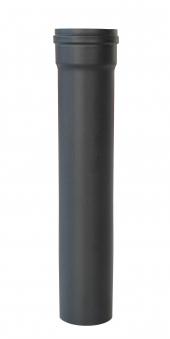 Ofenrohr für Pelletofen Senotherm 1,2mm grau Ø 80mm Länge 500mm Bild 1