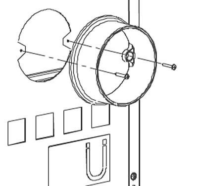 Anschlußstutzen La Nordica für externe Verbrennungsluftzufuhr Ø 120 mm Bild 1