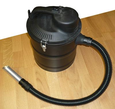 Aschesauger mit Motor Lienbacher 1200W 18 Liter mit Abklopfmechanik Bild 1