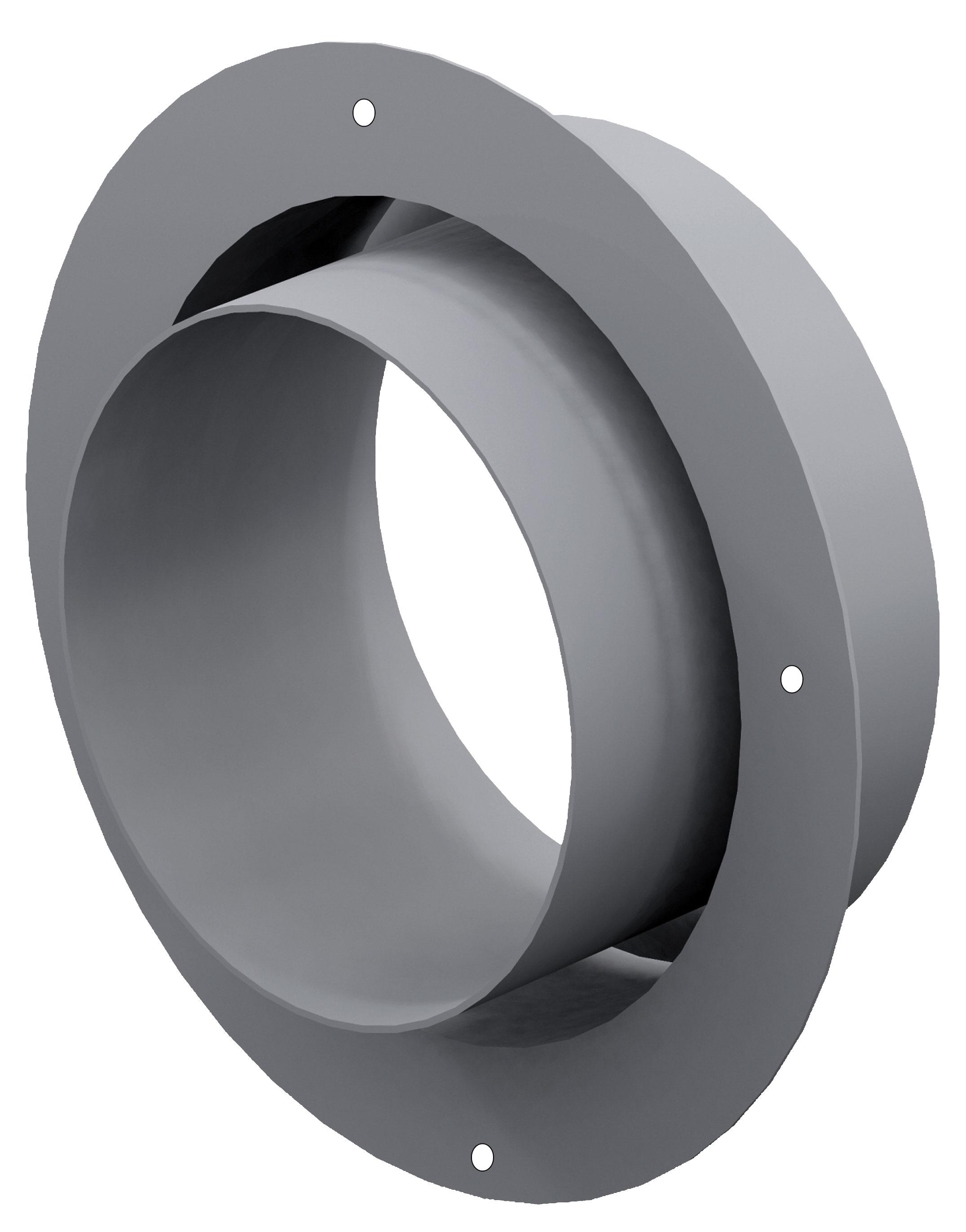 anschlussstutzen f r externe luftzufuhr 60 mm verzinkt. Black Bedroom Furniture Sets. Home Design Ideas