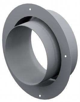 Anschlussstutzen für externe Luftzufuhr Ø125mm verzinkt LAS Ringspalt Bild 1