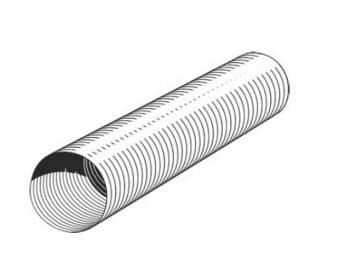 Flexibles Lüftungsrohr aus Aluminium Ø 150 mm Bild 1
