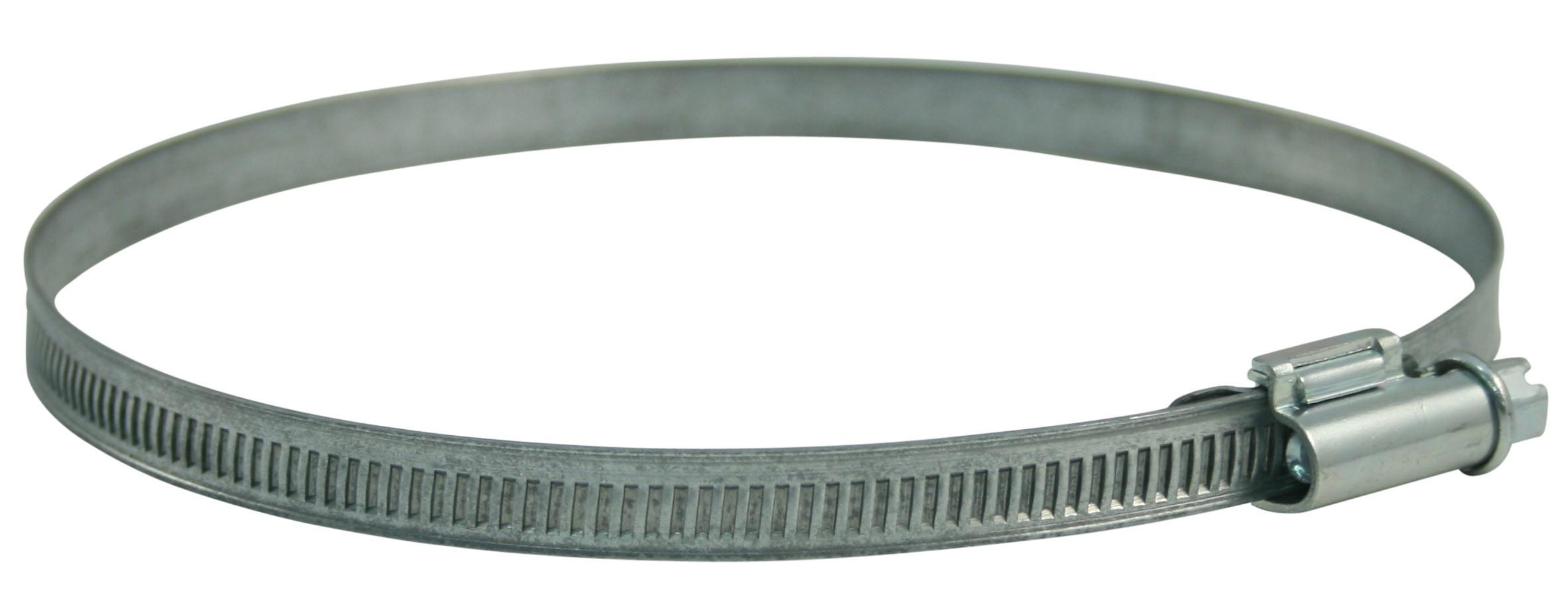 Rohrschelle verzinkt verstellbar von 80 - 130 mm Bild 1