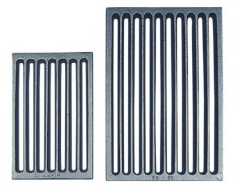 Kaminrost / Kaminofen Feuerrost Gusseisen vierkant 22 x 16 cm Bild 1