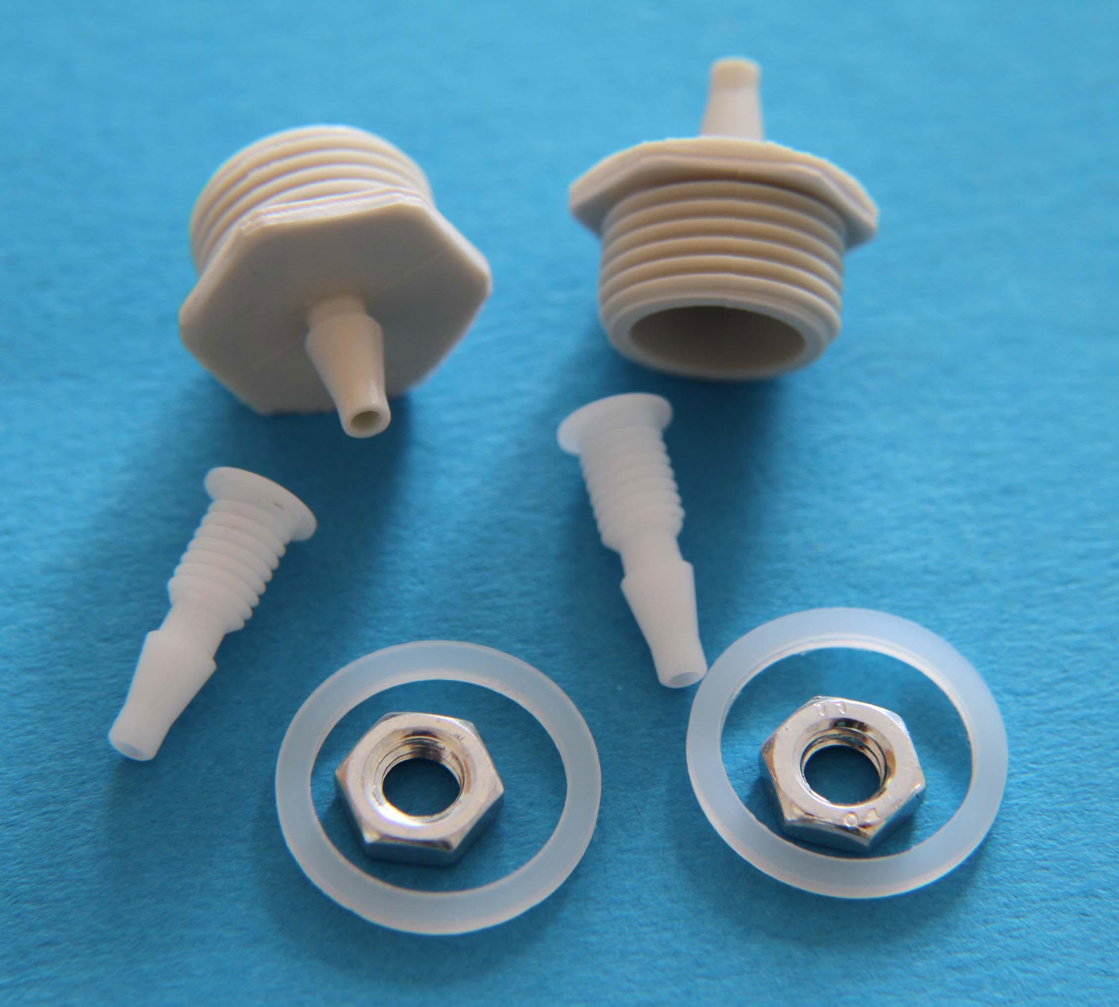 ANS STD Anschlussnippel Set für Blinddeckel Luftdruckwächter P4 Bild 1
