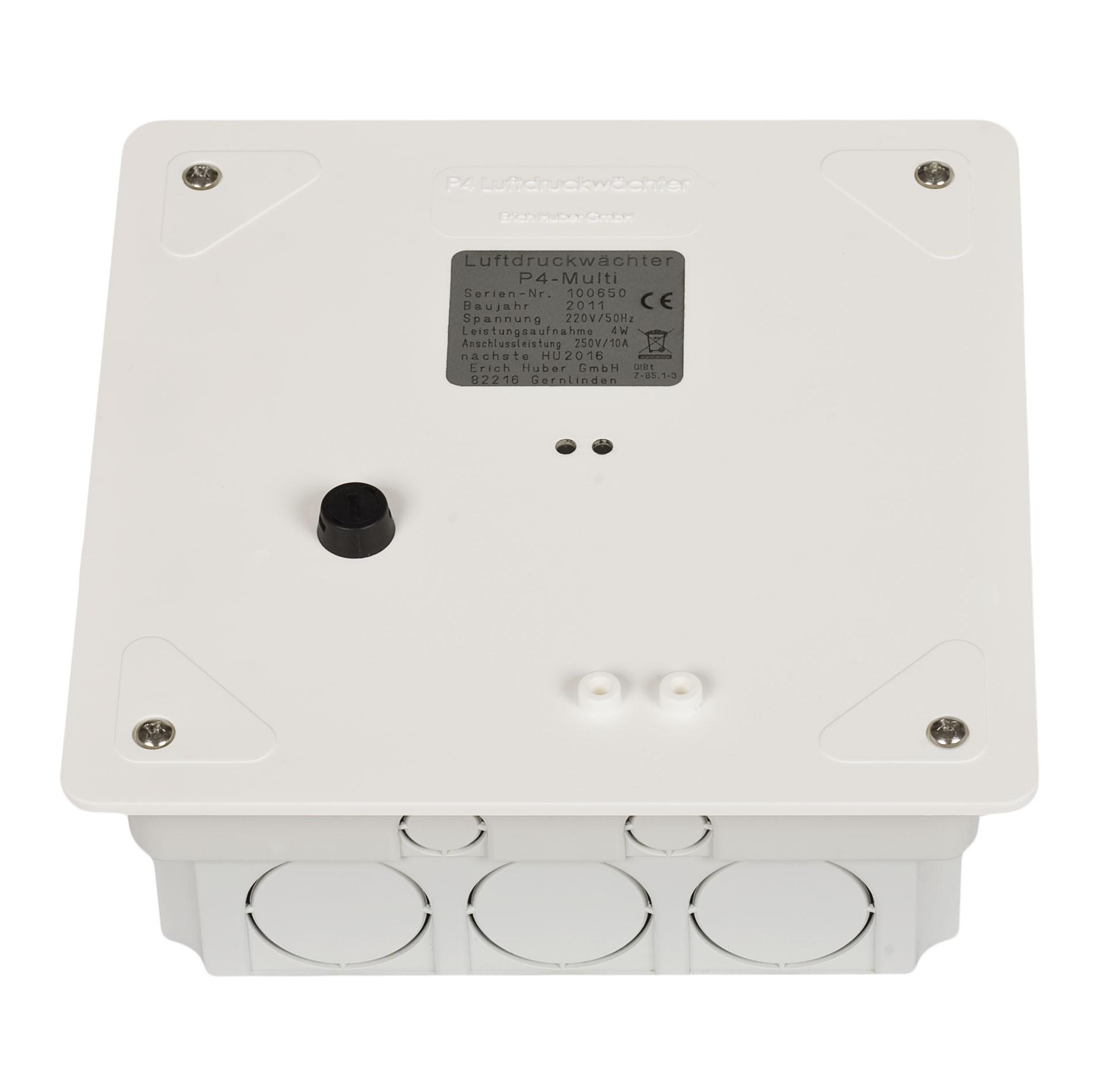 Luftdruckwächter P4 Multi Unterputz 6m Luftschlauch DIBt Bild 1