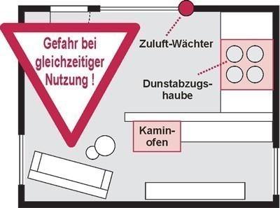 Luftdruckw�chter / Abluftsteuerung Zuluft-W�chter MZ-Kabel Marley Bild 2