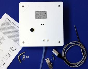 Rauchzugwächter ZP4 Komplett-Set LED Ausführung Aufputz Montage Bild 1