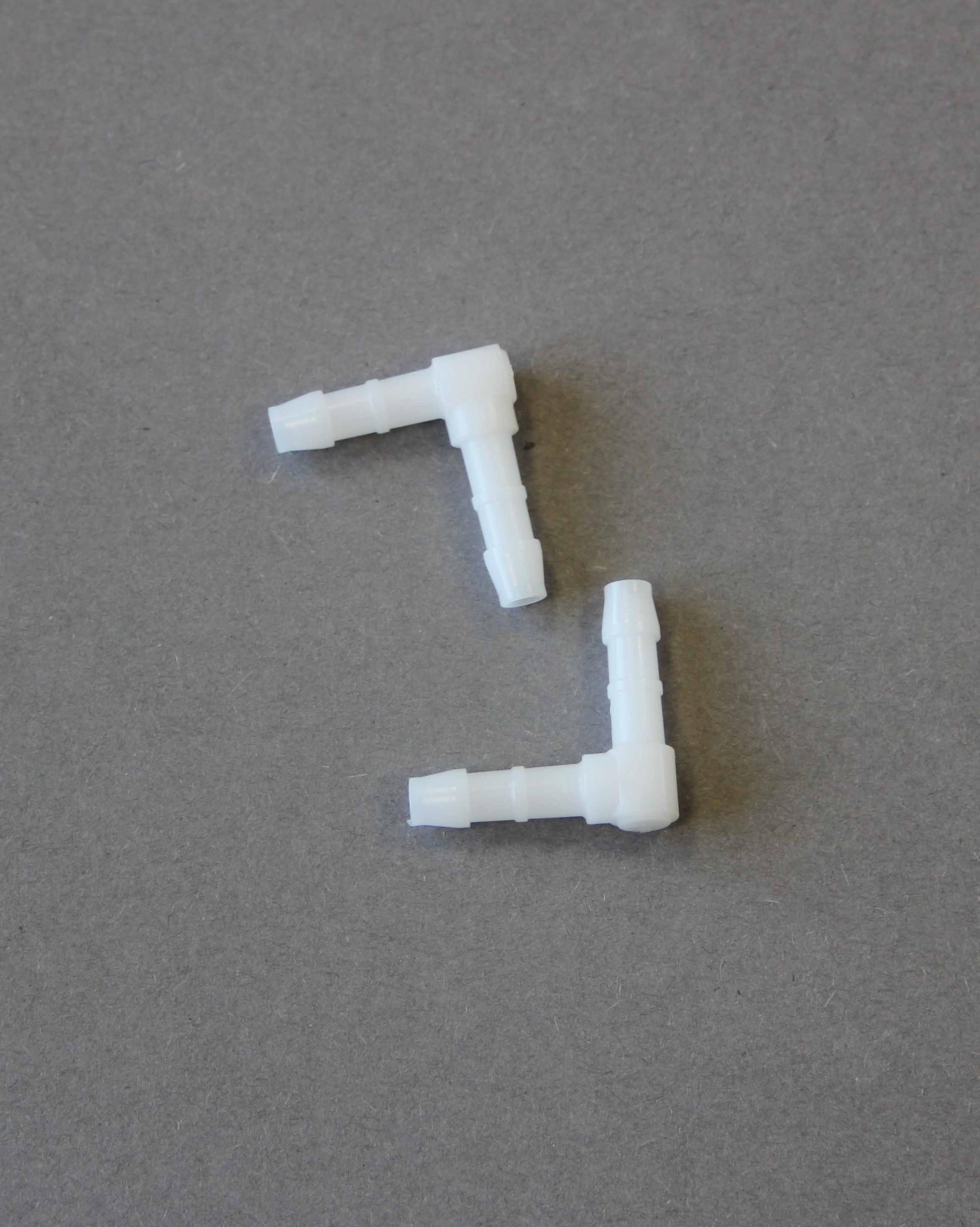 Winkelstück für Luftschlauch Huber Erich Ø 6mm 21x21mm 2 Stück Bild 1