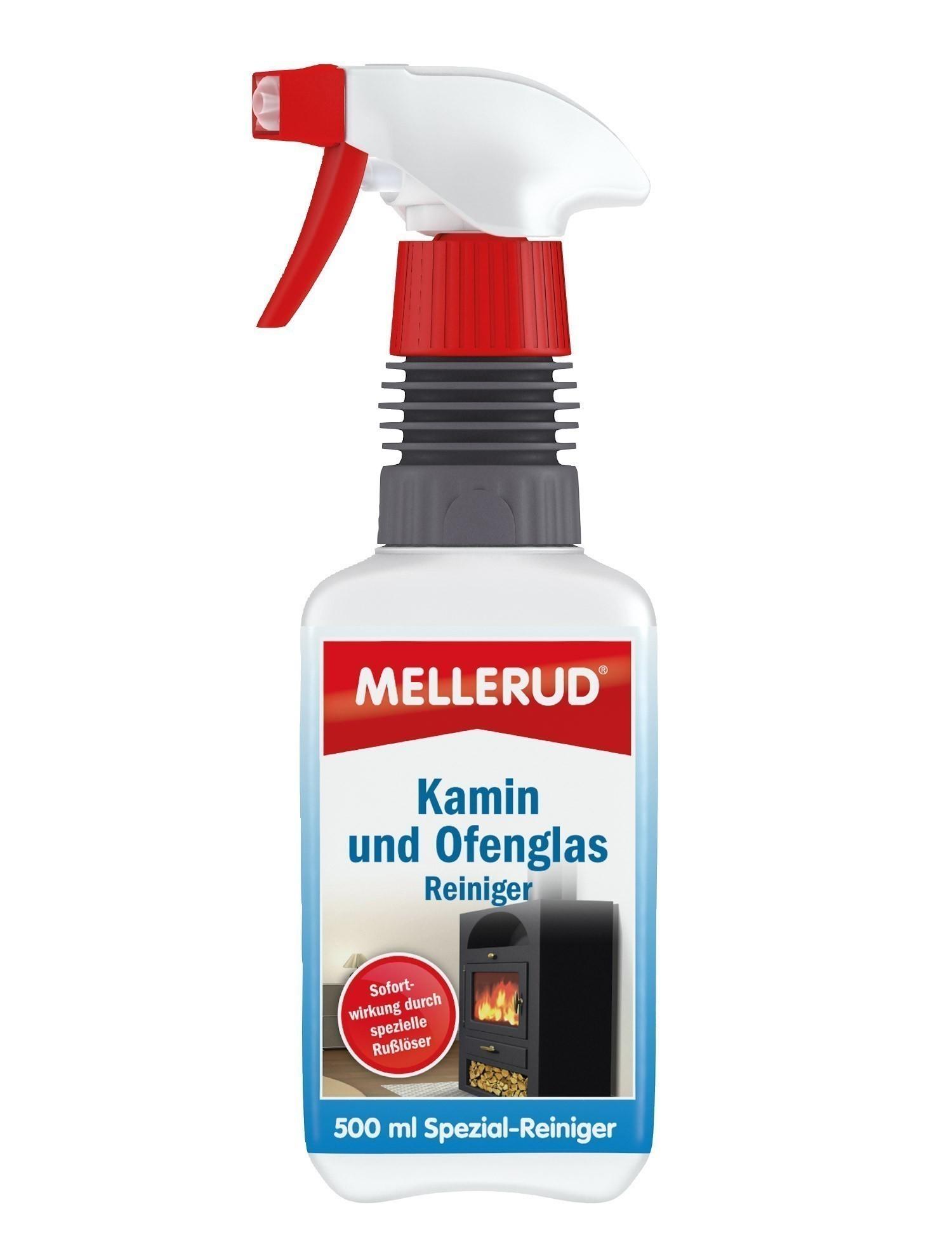 MELLERUD Kamin und Ofenglas Reiniger Aktivschaum 0,5 Liter Bild 1